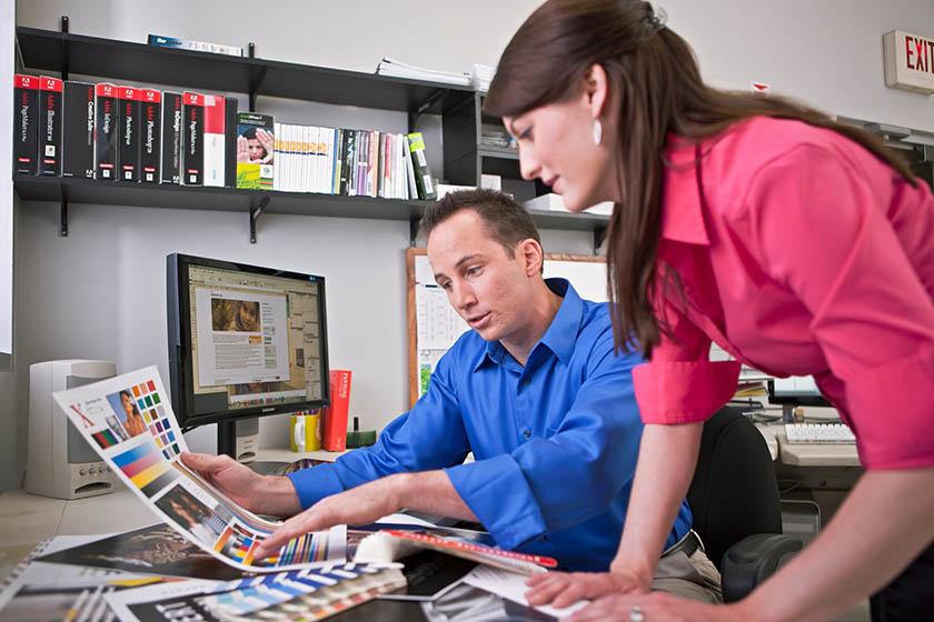 digital printing vs offset printing